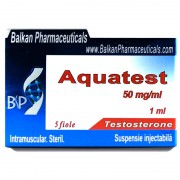 Balkan Pharmaceuticals Aquatest 100 mg/ml 1 ml