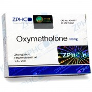 Zhengzhou Pharmaceutical Oxymetholone 50 mg 50 tab