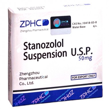 Zhengzhou Pharmaceutical Stanozolol Suspension 50 mg/ml 1 ml