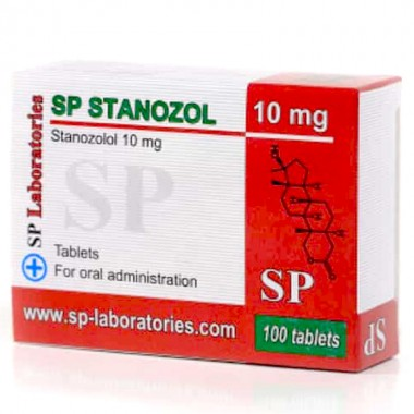 SP Laboratories Stanozolol 10 mg 100 caps