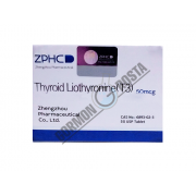 Zhengzhou Pharmaceutical Thyroid Liothyronine 50 mcg 25 tab